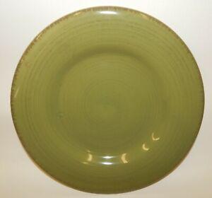 TAG-Sonoma-Dinnerware-11-034-Green-Stoneware-Dinner-Plate-NWT
