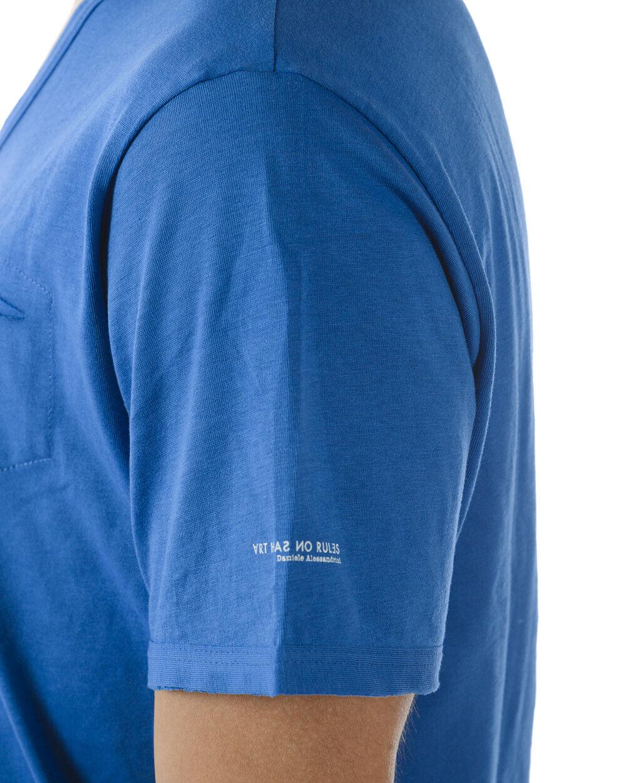 T shirt Maglietta Maglietta Maglietta Daniele Alessandrini Sweatshirt ITALY Uomo Blu M9023NO3701 3 830e2e