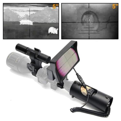 bestsight DIY Digital Night Vision Scope for Rifle Hunting with Camera and 5/""