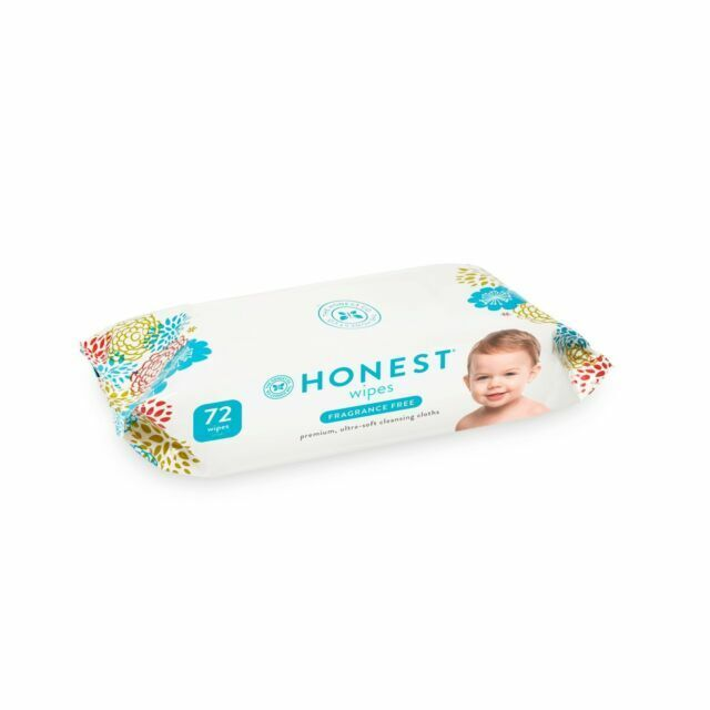 576 Count Classic Fragrance Free The Honest Company Honest Company Baby Wipes