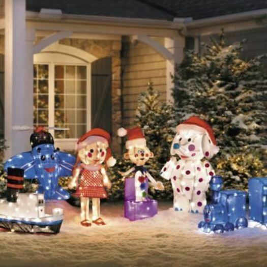 Misfit Toys Display Lighted Outdoor