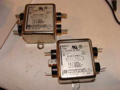 CORCOM 20VSK6 EMI LINE FILTER 20A 120//250V                 BUY ONE GET ONE FREE