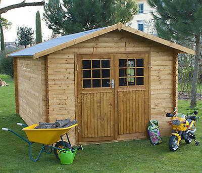 Casetta in di legno 345x540 porta doppia 25 mm casette for Casette in legno usate ebay
