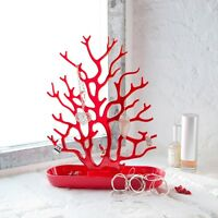 Koziol Cora Jewelry Organizer - Holds Bling & More Fun Coral Design Great Gift