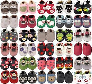 MINIFEET-SOFT-LEATHER-BABY-SHOES-PRAM-SHOES-0-6-6-12-12-18-18-24-MTH-amp-2-3-YRS