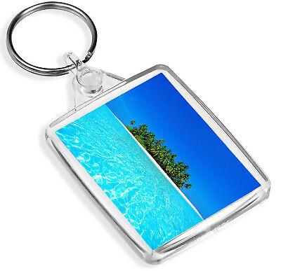 Entusiasta Paradise Island Portachiavi Spiaggia E Oceano Viaggio Vacanza Portachiavi Regalo #8969- Limpid In Sight