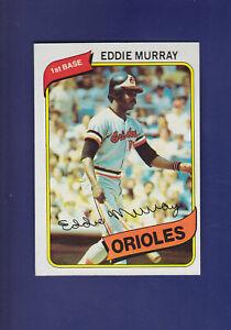 Eddie-Murray-HOF-1980-TOPPS-Baseball-160-NM-Baltimore-Orioles