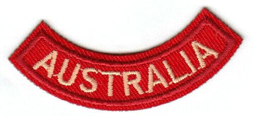 AUSTRALIA ROCKER Small Iron On Patch