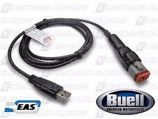 Buell ECM Spy TPS Reset Direct Link USB Programming Tuning Black Recert Cable