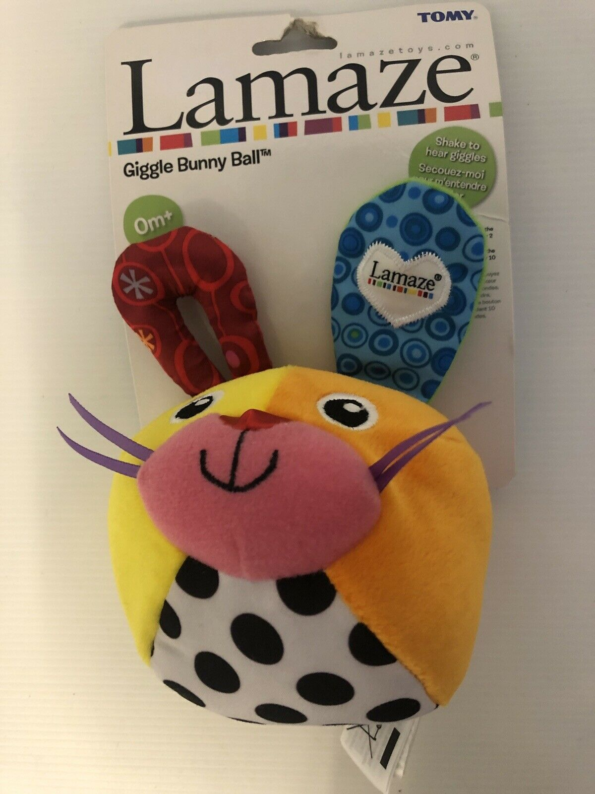 Tomy Lamaze Giggle Bunny Ball From Birth For Sale Ebay