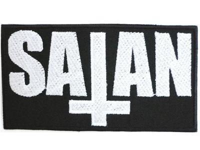 Satanic Devil Demonic Demon Satan Anti Christ Horror Iron on Embroidered Patch