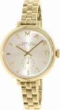 NEW MARC JACOBS MBM3363 SALLY GOLD-TONE ION-PLATED STAINLESS STEEL WOMEN'S WATCH