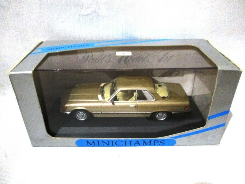 Mercedes 450SLC  gold Metallic 1974  Minichamps  430033422
