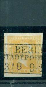 Di Prussia, Friedrich Wilhelm IV. n. 12 timbrato Berlino città posta