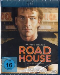 ROAD-HOUSE-Patrick-Swayze-Ben-Gazzara-Blu-ray-Disc-NEU-OVP