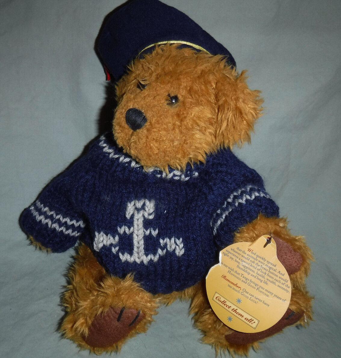 Brass Button Collectibles Tango Sailor Bear 10  Plush Soft Toy Stuffed Animal