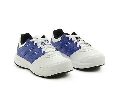 Adidas Duramo 7 K Running Shoes Trainers Boys Girls Junior Womens S83321 White @