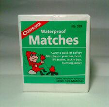 Waterproof Matches - 10 Box of 40  - 400 + Credit Card Pocket Survival Tool