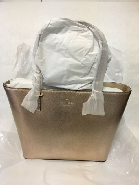 3d2b681bb5ac KATE SPADE NEW YORK Cedar Street Mini Harmony Leather Tote Handbag ROSE  GOLD NEW