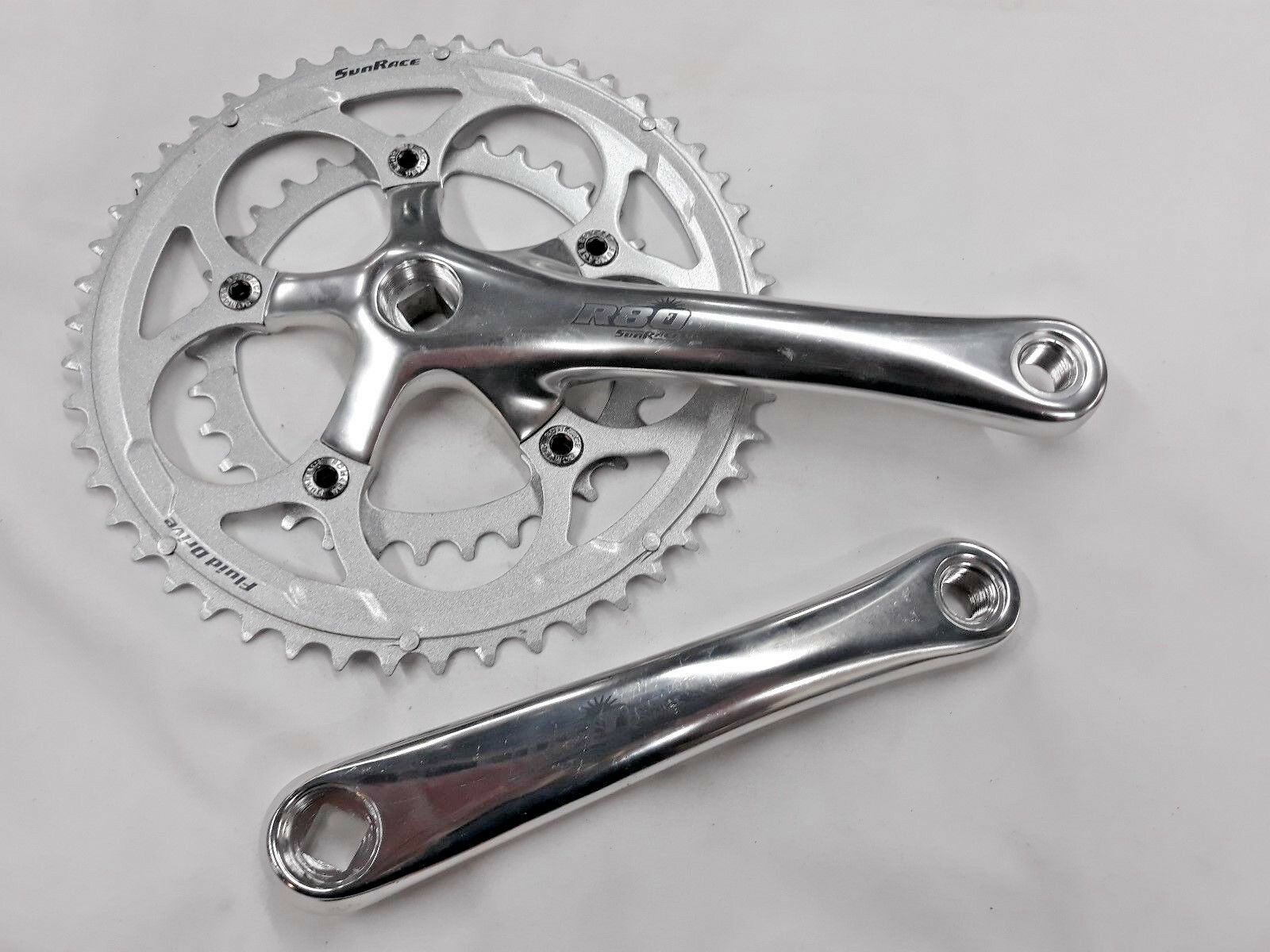 USED SUNRACE DOUBLE RING CRANKSET 170MM