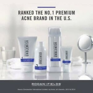 71dfc8f784a Rodan and Fields UNBLEMISH + LASH BOOST SPECIAL New Sealed! FREE ...
