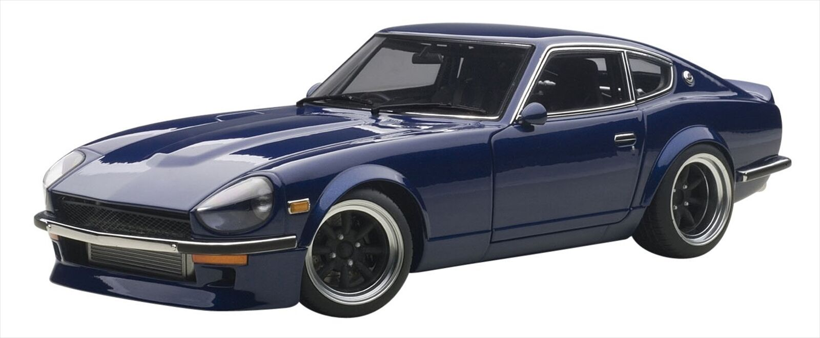 AUTOart 1 18 NISSAN FAIRLADY Z (S30)  Racing Midnight Devil Z Diecast voiture 77451  sortie d'exportation