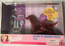 Barbie Glam 'N Groom Pets Ruby NRFB 25993