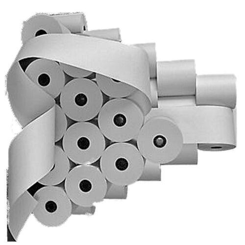 Kassenrollen für Olympia CM 75 (50.stück)-57mm x 65mm x 40m Kern Ø 12mm- weiß...