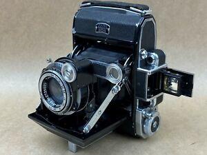ZEISS-IKON-Super-Ikonta-A-531-Rangefinder-Camera-w-7-5-Tessar-Frozen-Focusing