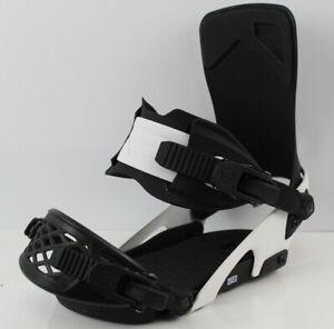 Ride-LTD-Snowboard-Bindings-Large-Men-039-s-US-Size-8-12-Black-White-New-2020