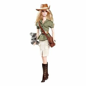 Poupée Barbie Du Monde Australie Mattel W3321 Nouveau