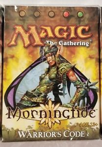Magic The Gathering (MTG) Morningtide Sealed Theme Deck - Warrior's Code