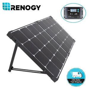 Renogy-Eclipse-100W-12V-Folding-Solar-Panel-Suitcase-RV-Off-Grid-Battery-Charger