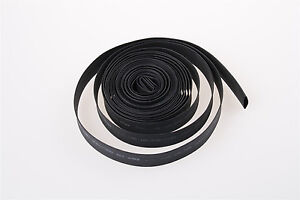 10mm  Black Polyolefin Heat Shrink Tubing Tube Sleev Wrap Black 10m 190459657754