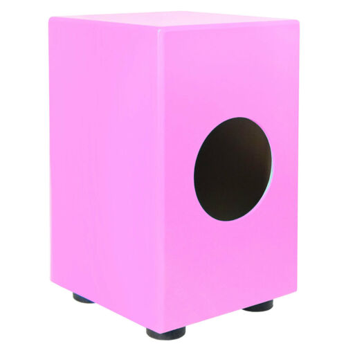 keepdrum DC1M-PK Junior Cajon für Kinder Trommelhocker Pink