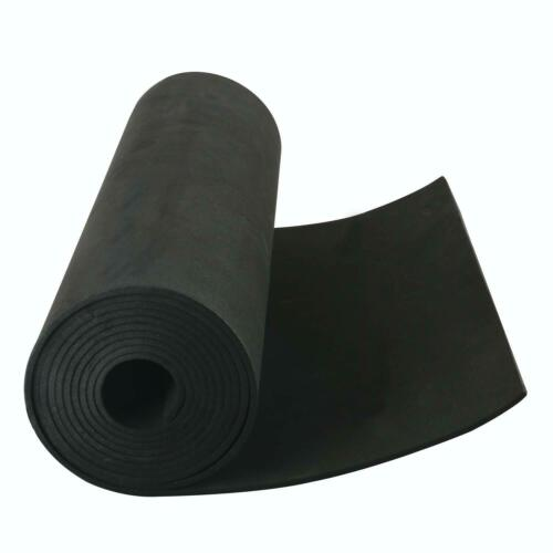 "1//8/""x13/""x80/"" Sponge Neoprene No Adhesive Foam Rubber Sheet DIY Foam Sheet"