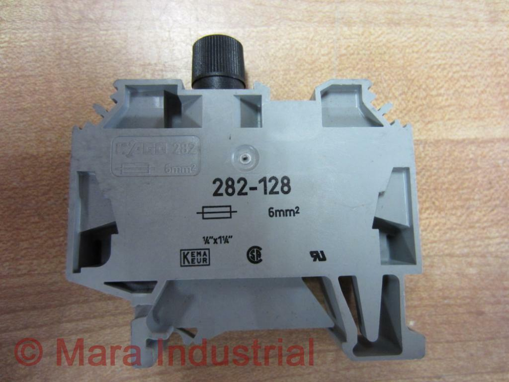 Wago 282 128 Fuse Block 282128 New No Box 331753580850 1077 X1