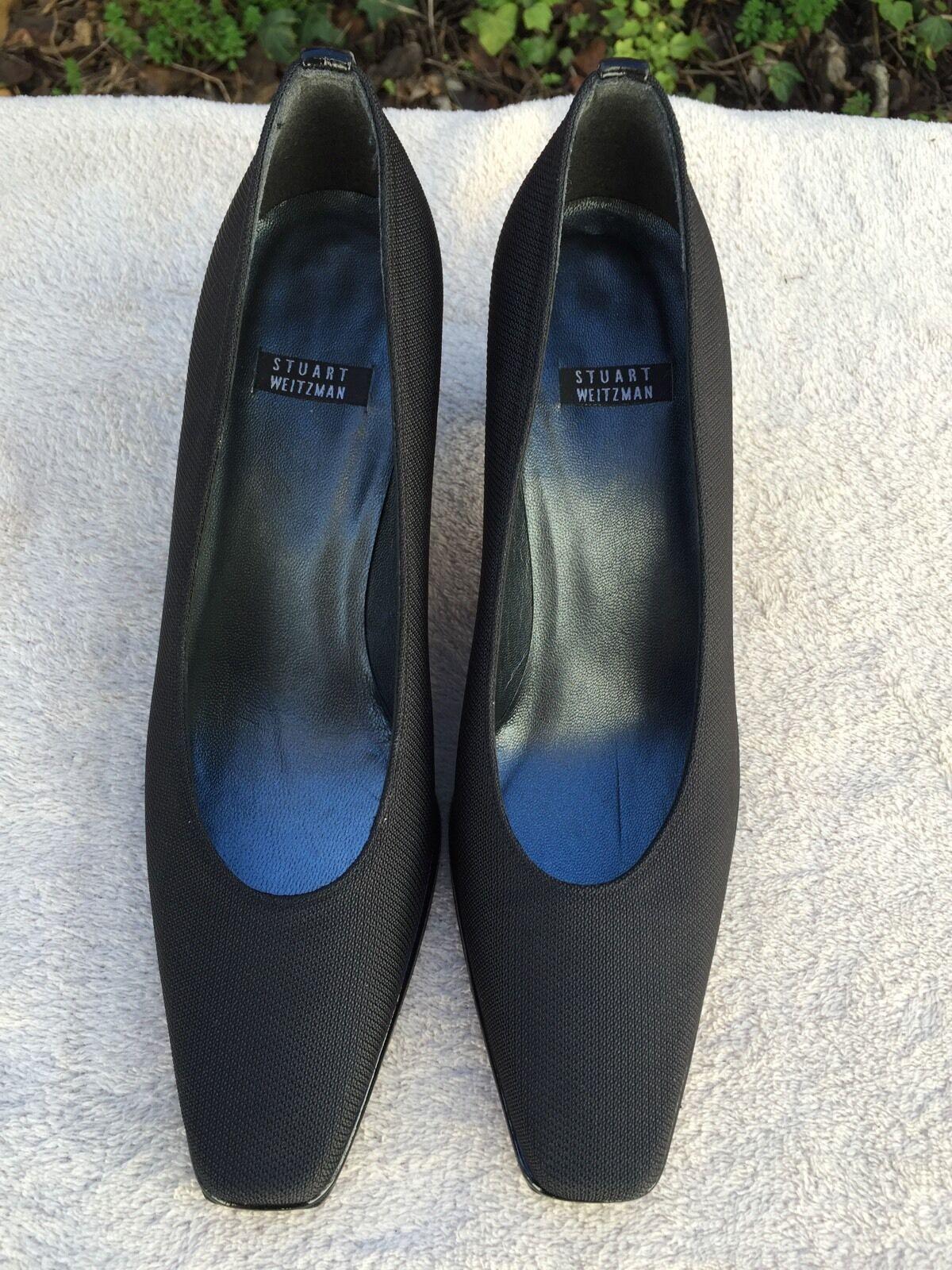 economico NEW Stuart Weitzman Donna  Pumps Heel nero nero nero scarpe Us Sz 7.5 Made in Spain  qualità garantita
