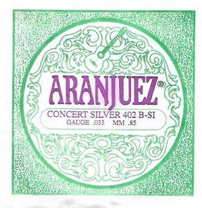 ARANJUEZ - Cordes unité guitare classique concert 402 B-Si