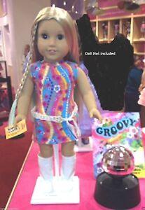 American-Girl-Julie-039-s-Dance-Set-LE-NIB-Mirrored-Disco-Ball-School-NO-DOLL-LE