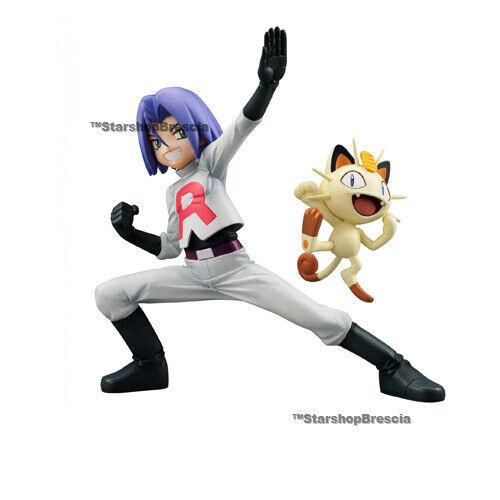 Pokemon - James & Miaouss PVC Figurine G. E. M.Megahouse