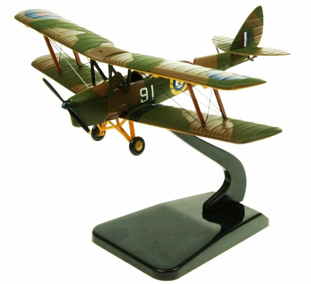 Aviation 72 Av7221003 1 1 1 72 Dh82a Tiger Moth Raf Trainer 692abc