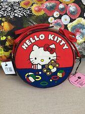 Olympia Le Tan Hello Kitty Teddy Bear Dizzle Round Canvas Crossbody Bag $1050