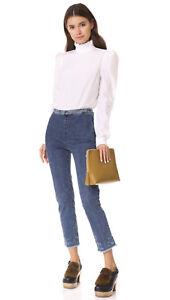 Pantalone vita Rachel jeans 4 Comey Fletcher 345 Denim Pantalone a in alta velluto gXqOx1