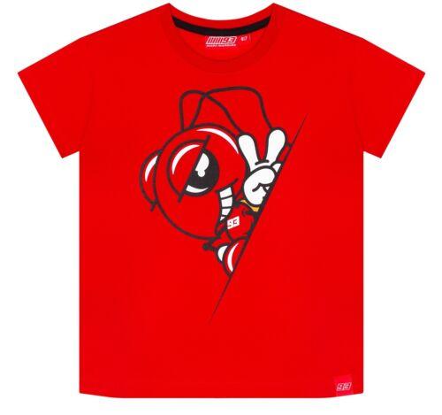 Official 2019 Marc Marquez kids t shirt MotoGP Ant logo Honda rider #93