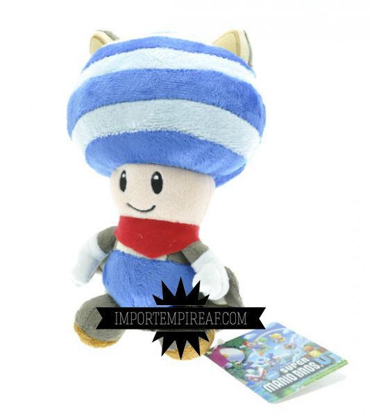 Super Mario BROS. toad musasabi blau Plüsch WII U Schneemann new Plush doll blau