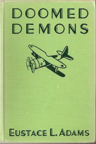C841 Doomed Demons WW1 Air War 1935 Hardback Book