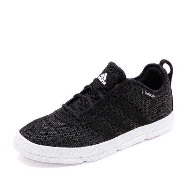 Adidas X-Hale Climacool Men's Sz 9.5 Black White Low Basketball shoes NIB G20196