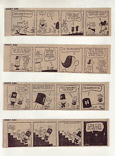 Short Ribs by Frank O'Neal - 24 daily comic strips from January 1970