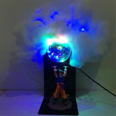 KAKALIN Dragon Ball Z SON GOKU Super Spirit Bomb Genki Dama Led Light Lamp Action Figure Whole Set Red